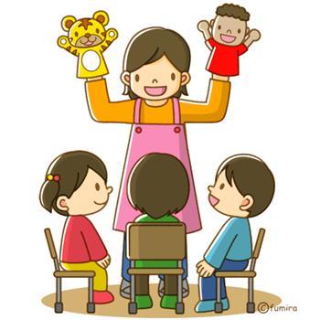成績さくらを使うことで時間に余裕ができ、ふれあう時間が増えた園児と先生